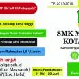 Pelaksanaan penerimaan peserta didik baru SMK Ma'arif 05 Kotagajah dilaksanakan pada tanggal 11 Mei 2015 – 29 Juni 2015. Dalam PPDB kali ini SMK Ma'arif 05 Kotagajah membuka dua jalur […]